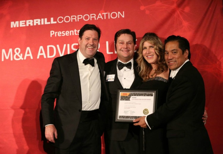 M&A Advisor Awards Deals