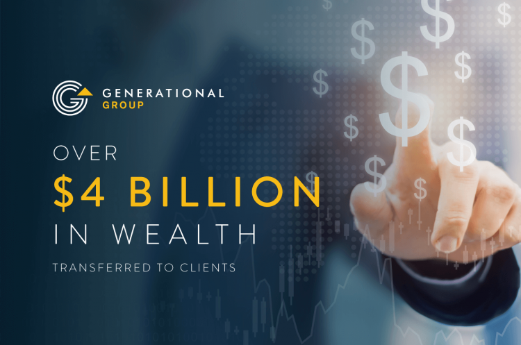 Generational Group 4 Billion Clients