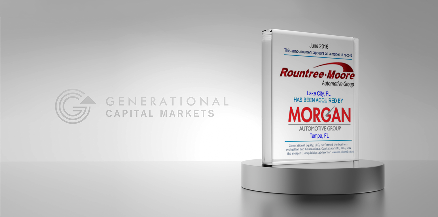 Rountree Moore Acquired By Morgan Auto Group