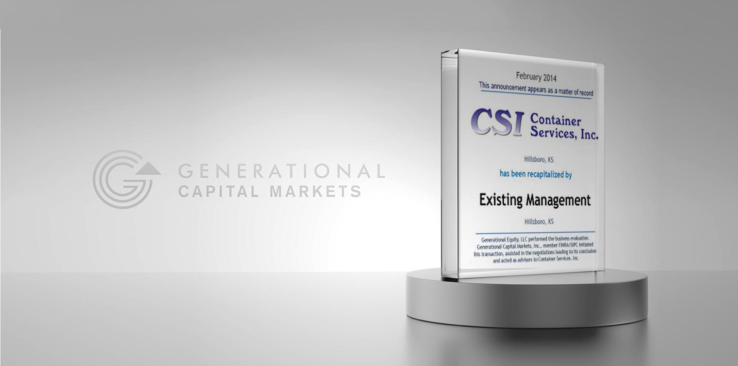 CSI Container Services