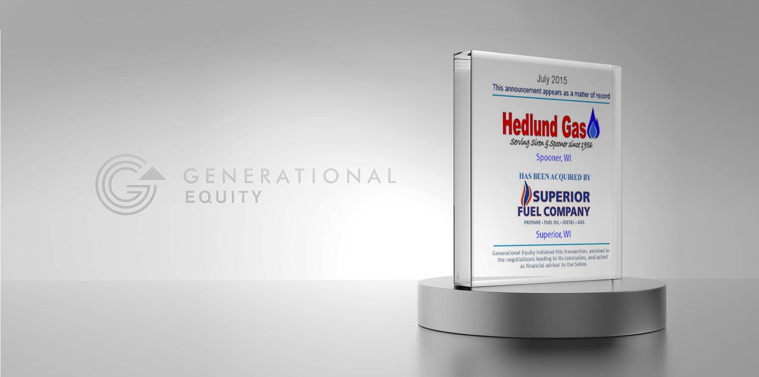 Hedlund Gas Header