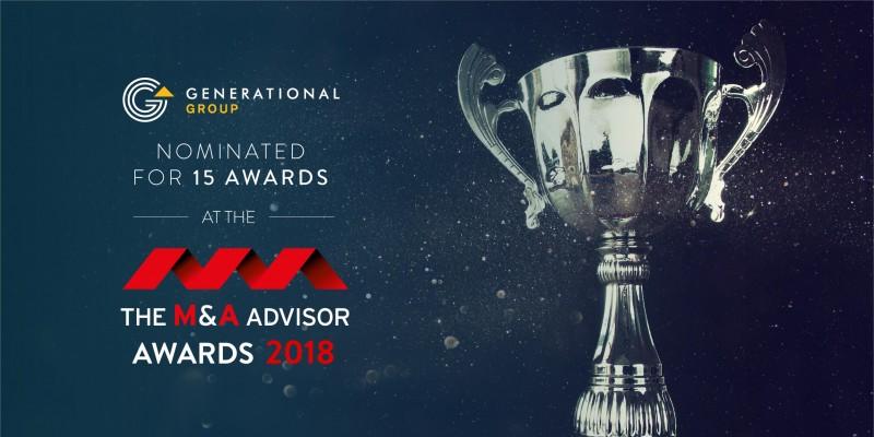 M&A Advisor Awards Nominations 2018
