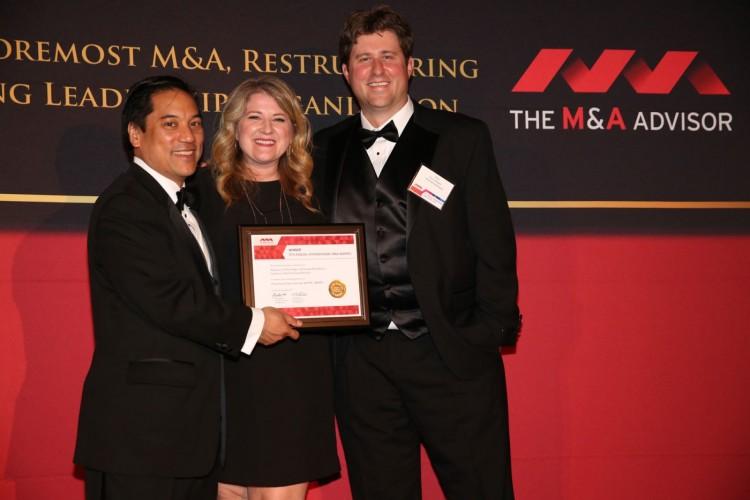 International M&A Advisor Award GE